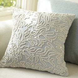 All-over Coral Decorative Pillow