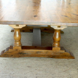 84 Reclaimed Wood Square Dining Tables -