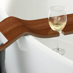 Bathroom Products - Tombolo bath wine glass rack from Victoria & Albert.