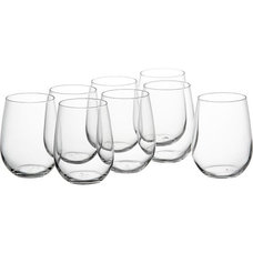 Contemporary Everyday Glasses by Crate&Barrel