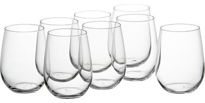 Contemporary Everyday Glassware by Crate&Barrel