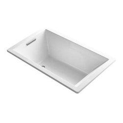 """KOHLER - KOHLER K-1849-VB-0 Underscore VibrAcoustic 60"""" x 36"""" Bath - KOHLER K-1849-VB-0 Underscore VibrAcoustic 60"""" X 36"""" bath in White"""
