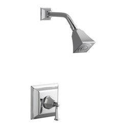KOHLER - KOHLER K-T462-4S-CP Memoirs Rite-Temp Pressure-Balancing Shower Faucet Trim - KOHLER K-T462-4S-CP Memoirs Stately Rite-Temp Pressure-Balancing Shower Faucet Trim with Lever Handle in Vibrant Chrome