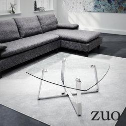 Zuo Modern Lemon Drop Small Coffee Table - Zuo Modern Lemon Drop Small Coffee Table