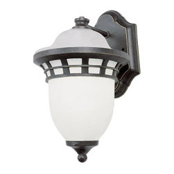 "Trans Globe Lighting - 5111 BZ Bristol 16"" high Wall Bracket BronzeCoastal Favorites Collection - Sail away with Greece coastal outdoor lighting designs from Trans Globe"