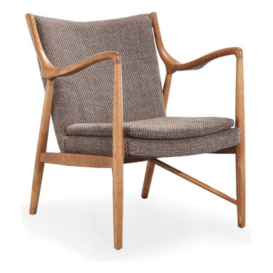The Library Chair - Reading books should be about pure relaxation. Do so in this sophisticated Library Chair. Check out one side for a surprise twist.