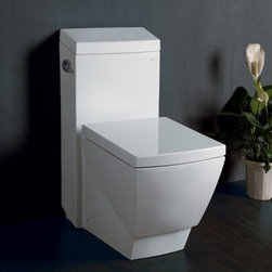 Ariel - TB336M Platinum Aphrodite Toilet With Elongated Bowl Type  High Quality Glaze Re - Ariel toilets are engineered to deliver exceptional performance and designed for functionality and style Vitreous china construction and a water-saving flush means dependable performance with lasting value We offer cutting-edge design one-piece toile...