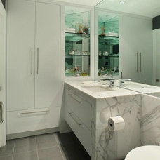 Bathroom Vanities And Sink Consoles by MIchael C. Lee Cabinetry, Inc.