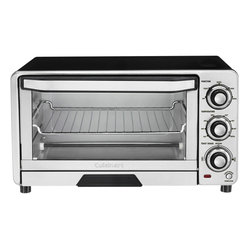 Cuisinart - Cuisinart Custom Classic Toaster Oven/Broiler - Always Even shade control monitors the temperature and adjusts the timing to consistently toast to the shade selected