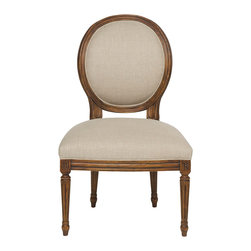 Vanguard Furniture - Vanguard Furniture Genevieve Side Chair V283S - Vanguard Furniture Genevieve Side Chair V283S