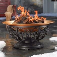 Outdoor Copper Fire Pit - Grandin Road