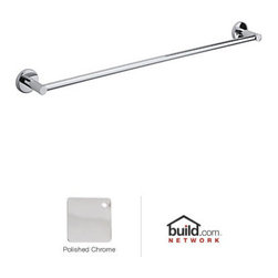 """Rohl - Rohl LO1/30APC Polished Chrome Lombardia Lombardia 30"""" Towel Bar - Lombardia 30"""" Towel BarThe Lombardia region of Italy is best known for its scenic views of mountains, plains, and picturesque lakes. As the center of the Renaissance-era culture, Rohl's Lombardia collection from the Modern Bath suite takes its inspiration from this region. This modern-themed collection of bathroom faucets, fixtures, and accessories employs the straightforward use of minimal moving parts. The sleek lever handles complement the elegant high-arc spout of the double handle bathroom faucet and Roman tub filler. The brass construction of Rohl's Lombardia collection comes in your choice of three finish options.Rohl LO1/30 Features:Metal die cast construction – weight: 3 lbs.Superior finishing process – chemical, scratch, and stain resistantTowel bar length: 32-3/8""""Easy to clean and installTowel bar length may be cut downExtra secure mounting assemblyAll mounting hardware includedFully covered under Rohl's limited lifetime warrantyManufactured in New Zealand, Western Europe, and/or North AmericaAbout Rohl:Excellence, durability, and beauty. Family values, integrity, and innovation. These are all terms which aptly describe Rohl and its remarkable selection of kitchen and bathroom faucets and fixtures. Since 1983, Rohl has maintained a commitment to providing high-quality plumbing products for residential and commercial applications, while assuring these fixtures would make a difference in the overall décor in the living space. With a dedication to excellence throughout the home, Rohl has been satisfying homes, schools, hospitality venues, and restaurants all around the world. Rohl specializes in providing timeless designs for every type of theme, including traditional, transitional, and modern. When Rohl suggests its products reflect the feel of a certain area outside the United States, it's more than just that. Rohl products"""