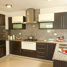 Modern Kitchen Cabinetry by Disfamosa