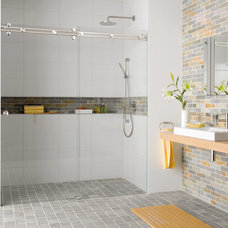 modern showers by Bradford Hardware