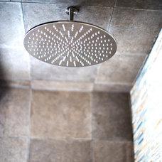 Modern Showers by Blu Bathworks