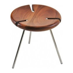 Tribo Stool by Ilse Lang - This funky little stool will add a dash of tribal style to your home.Not only that, the slats make them stackable, should you choose to buy more than one for extra seating.Oh, and apparently the designer was inspired by gauchos sitting around the campfire, so you can bring some South American cowboy vibes into your room.