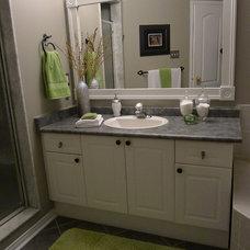 Contemporary Bathroom by TLC_Designs