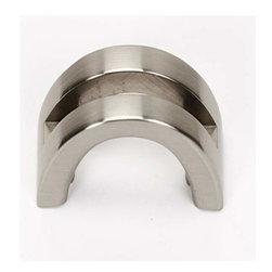 Alno Inc. - Alno Creations 1 1/2 Inch Split Top Knob Satin Nickel A421-Sn - Alno Creations 1 1/2 Inch Split Top Knob Satin Nickel A421-Sn