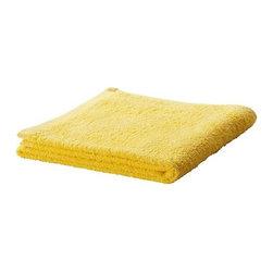HÄREN Bath sheet - Bath sheet, yellow