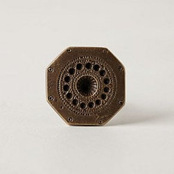 Anthropologie - Engraved Chevalier Knob - *Tighten with care