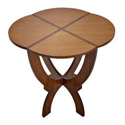 Bamboogems Custom Furniture- Scalloped End Table - Photos Wing Wong