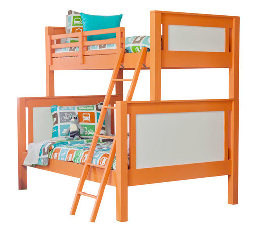 Newport Cottages - Ricki Bunk Bed - For a fresh take on the classic bunk bed, look no further than this marvelously modern piece. Sturdily built with clean lines and an optional trundle, it's slumber party central for your stylish kids.