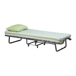 Linon - Luxor Folding Bed With Memory Foam - Dimensions:  79 x 31.5 x 15.8 inches