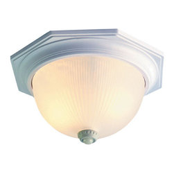 """Acclaim Lighting - Acclaim Lighting 75M Outer Banks 2 Light 14"""" Width Outdoor Flushmount Ceiling Fi - Acclaim Lighting 75M Outer Banks Two Light 14"""" Width Outdoor Flushmount Ceiling Fixture with Motion Sensor and PhotocellVersatile outdoor flush mount ceiling fixture has a simple style that will blend well with any d�cor.Acclaim Lighting 75M Features:"""