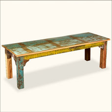 Eclectic Indoor Benches by Sierra Living Concepts