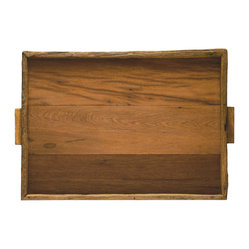 Reclaimed Wood Tray, XL