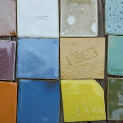Custom Tile Commissions - Color variations of glaze for tile installations