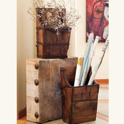 Vintage Horse Pack - Use these vintage horse packs to store things like magazines, or even toys!