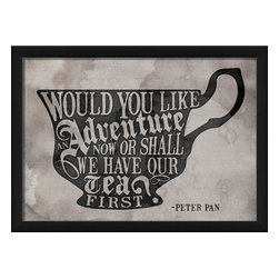 The Artwork Factory - Would You Like an Adventure Framed Poster - Made in the USA.