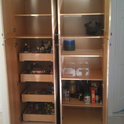 Pantry Pull Out Shelves -