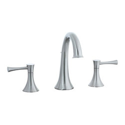 Cifial - Cifial 245.150.620 Brookhaven Hi-Arch Double Handle Widespread Bathroom Faucet w - Cifial 245.150.620 Brookhaven Hi-Arch Double Handle Widespread Bathroom Faucet with Metal Lever Handles in Satin NickelFounded in Portugal in 1904, Cifial has over 100 years of plumbing and hardware manufacturing experience.  Cifial utilizes state-of-the-art casting, forging, machining, and finishing technology to create high-quality product lines.  The Brookhaven collection is a study in both form and function, this faucet line offers superior performance and ease of use without sacrificing style.  The series is available in eight unique finishes ranging from polished