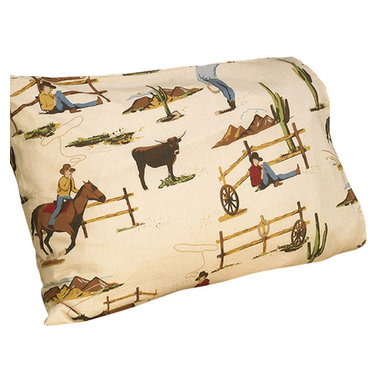 Sweet Jojo Designs - Wild West Cowboy Horse Print Sheet Set Twin (3-Piece.) - The Wild West Cowboy Horse Print Sheet Set is the perfect accessory for your Sweet Jojo Designs Bedding Set. This set is made of 100% cotton and is machine washable for easy care.