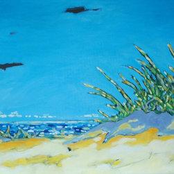 Artist Christi M. Dreese Paintings - Along the Shoreline Series