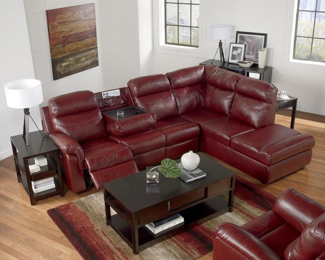 Modern Sectional Sofas by FurnitureCart.com