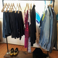 Eclectic Clothes Racks by Etsy