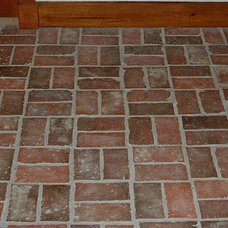 Traditional Floor Tiles by Inglenook Tile Design