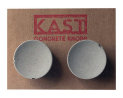 Kast Concrete Knobs - BETTY Concrete Cabinet Knob, Light Grey - - Concrete Knob