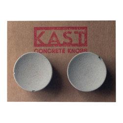 Kast Concrete Knobs - BETTY Concrete Cabinet Knob, Light Grey - - Concrete Knob