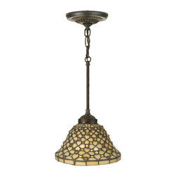 "Meyda Lighting - Meyda Lighting 111706 8""W Diamond and Jewel Mini Pendant - Meyda Lighting 111706 8""W Diamond and Jewel Mini Pendant"