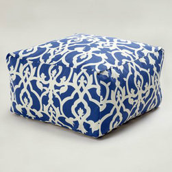 Timber Cove Ottoman - World Market makes some of my favorite affordable pieces, and this comfortable ottoman is one of my favorites. Ideal for indoor or outdoor use, it's the perfect option for additional seating.