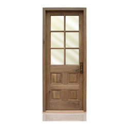 Traditional Collection | 2785 | 3-29 - Species: Knotty Walnut, Distress: Custom #333A, Exterior Distress: Custom #333B, Exterior Door