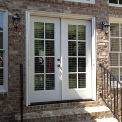 Traditional screen doors find storm doors and retractable for Double storm doors for french doors