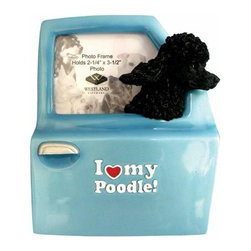 WL - I Love My Poodle Inscription Photo Frame with Dog Head Out Car Window - This gorgeous I Love My Poodle Inscription Photo Frame with Dog Head Out Car Window has the finest details and highest quality you will find anywhere! I Love My Poodle Inscription Photo Frame with Dog Head Out Car Window is truly remarkable.