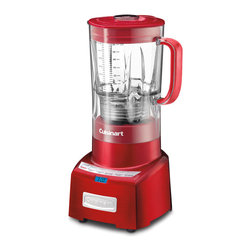 Cuisinart - Cuisinart CBT-1000MR Metallic Red PowerEdge Blender *With Bonus Rebate Items* - Cuisinart PowerEdge 1.3 Horsepower Blender is equipped with a 1000-watt motor that delivers enough power to blend smoothies, shakes, frozen beverages and puree soup.