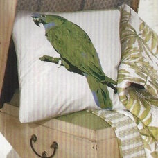Tropical Bed Pillows by Tropicality Decor