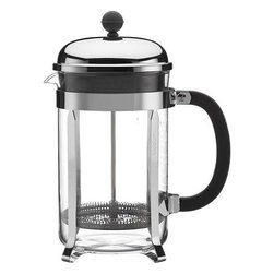 Bodum® Chambord 51 Ounce French Press - An original, dome-topped French press coffee maker with contemporary flair. The plunger-style brewing method results in fresh coffee revered for its rich, full-bodied character.